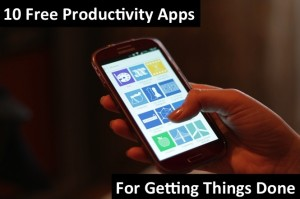 10 Free Productivity Apps for Getting Things Done