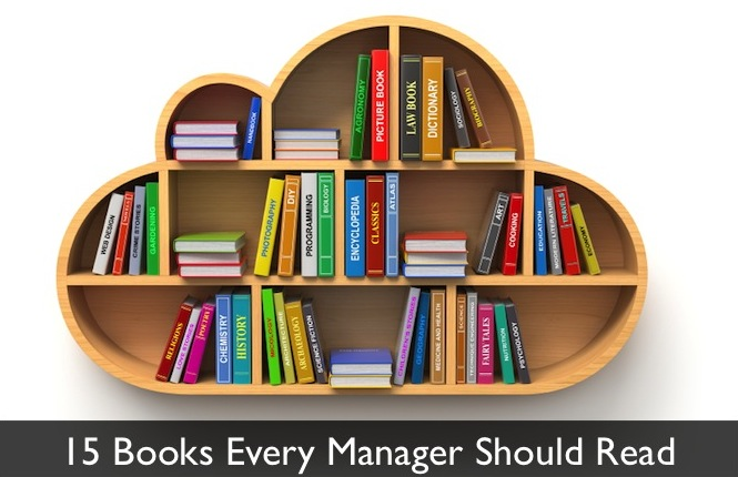 Read Book Shelf 15 books every manager should read