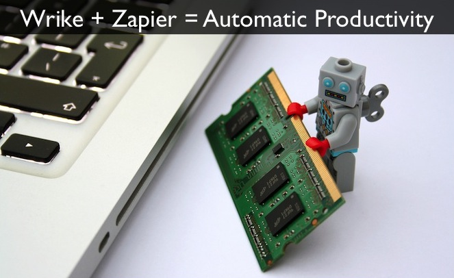 Wrike Integrates with Zapier for a World of Automation
