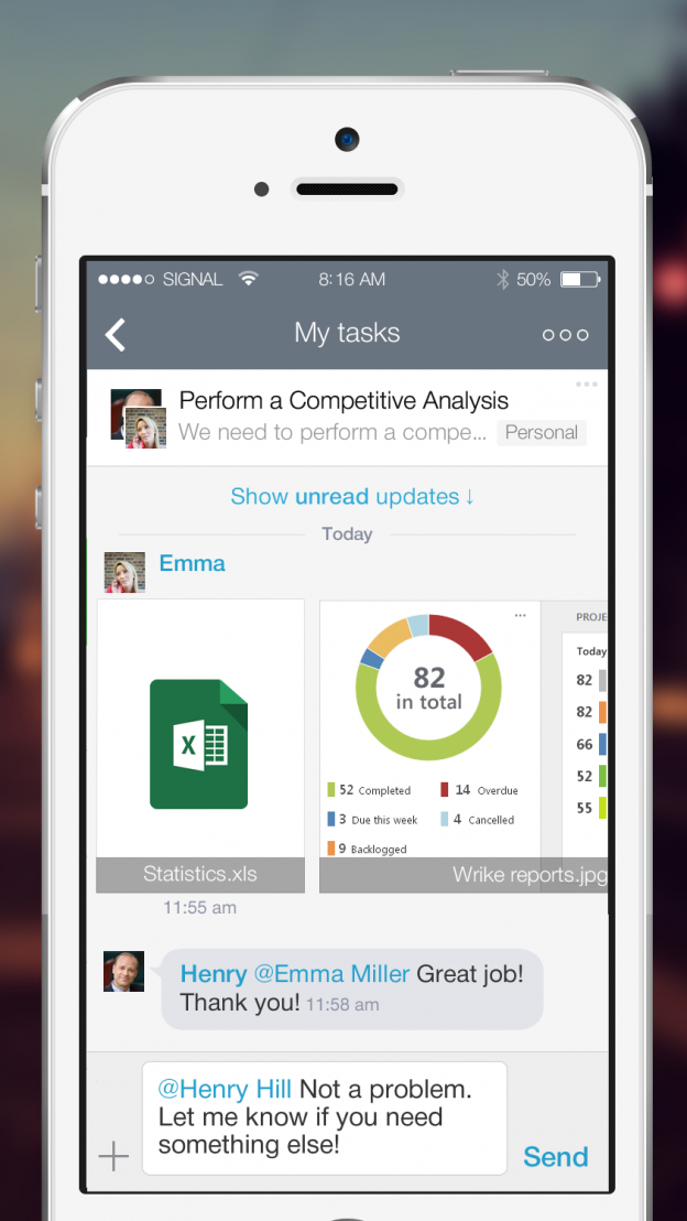 Wrikes Gantt Chart Goes Mobile The Beta Version Is Already In Your
