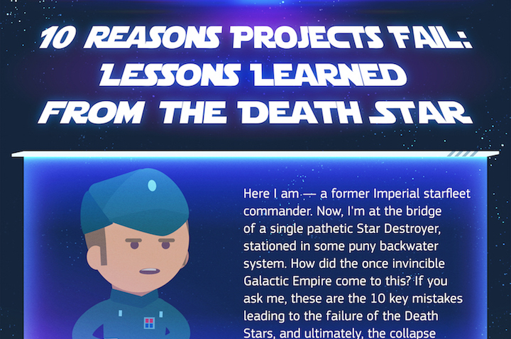 10 Reasons the Death Star Project Failed (Infographic)
