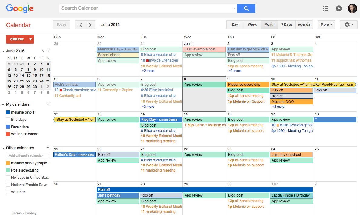 project management timetable template