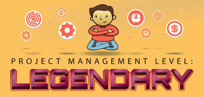 Project Management Level Legendary infographic