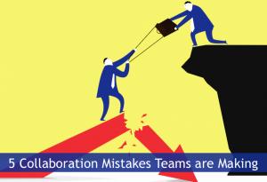 Cinco errores que cometen los equipos de marketing al colaborar