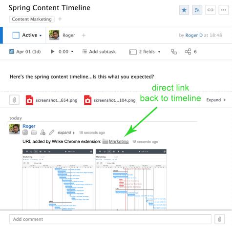 Three Ways to Wrike It Down with Wrike's Google Chrome Extension