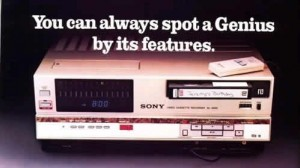 Product Development Lessons from Infamous Product Flops - Betamax