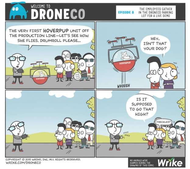 Product Development Lessons from Infamous Product Flops (+New DroneCo Comic)