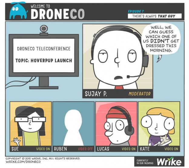 Video Conference Horror Stories - DroneCo Ep 7