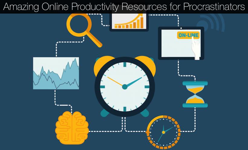 Amazing Online Productivity Resources for Procrastinators