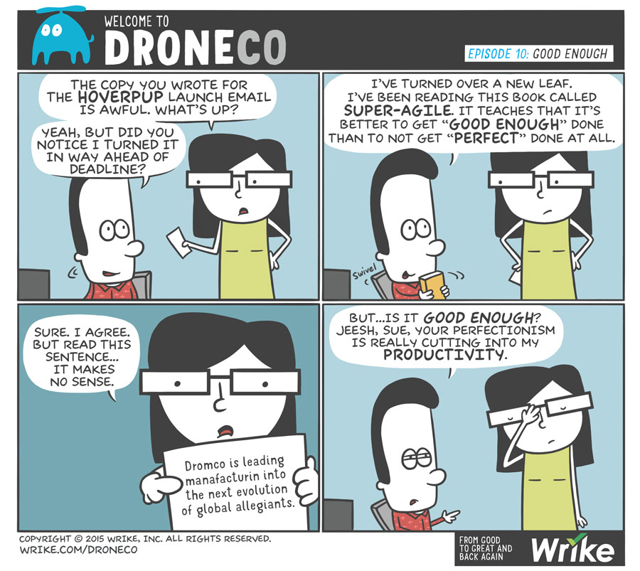 Craziest Productivity Tips of All Time (+New DroneCo Comic!)