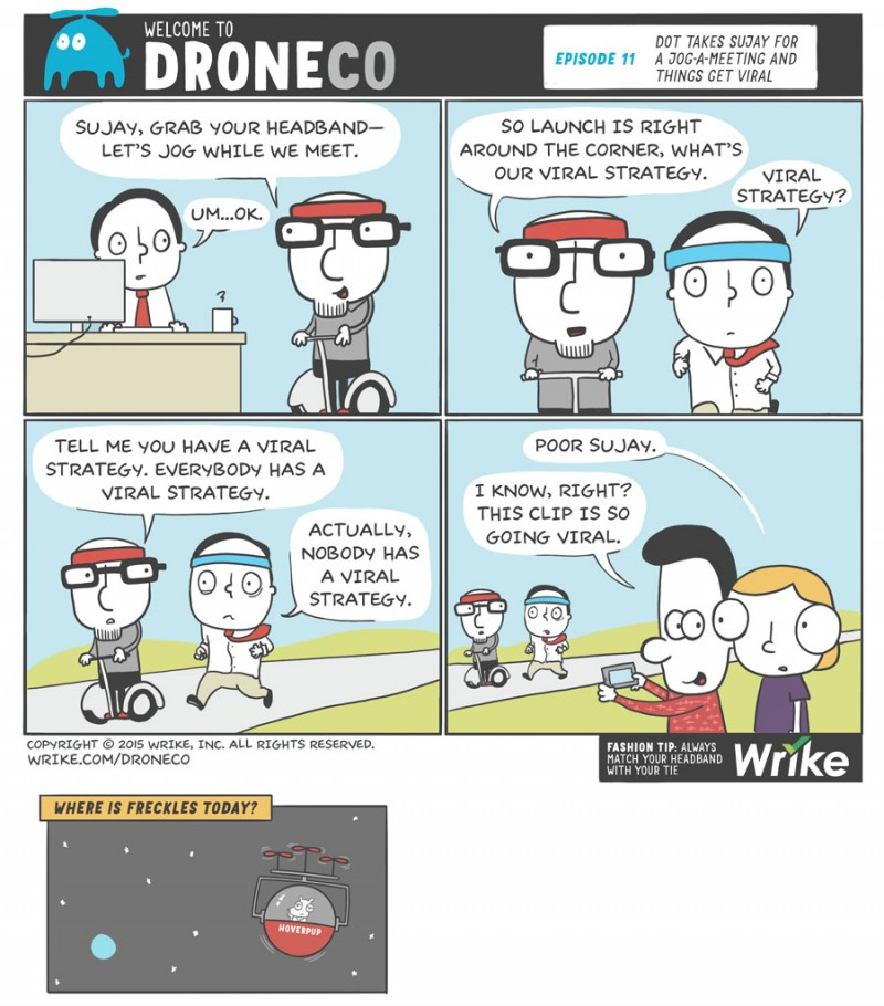 Viral Marketing Strategies from Crazy Successful Campaigns (+ New DroneCo Comic)