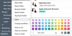 New Folder Colors Come to Wrike!