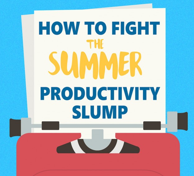 8 Tips to Fight the Summer Productivity Slump (Infographic)