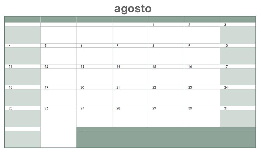 3 formas de crear tu calendario de proyecto: N.º 1: hojas de Excel