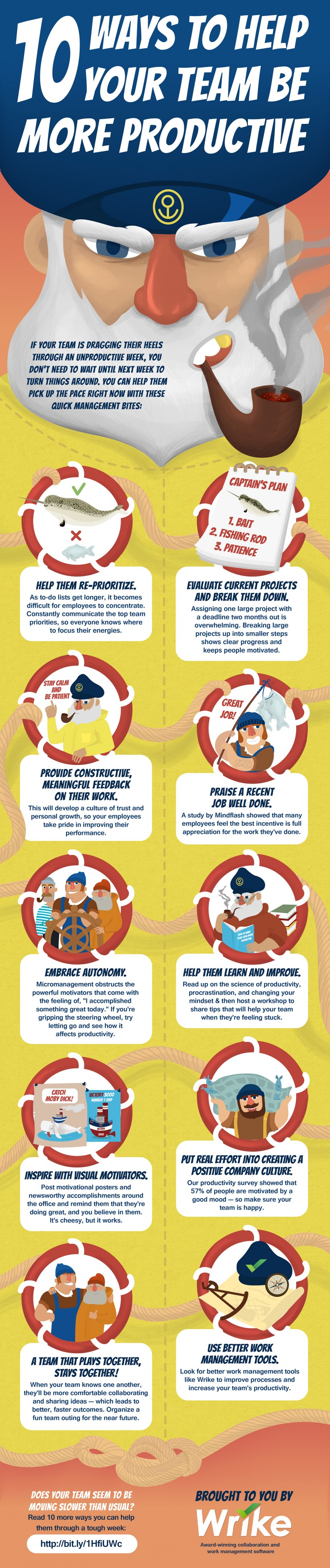 10 Ways to Make Your Team More Productive (Infographic)