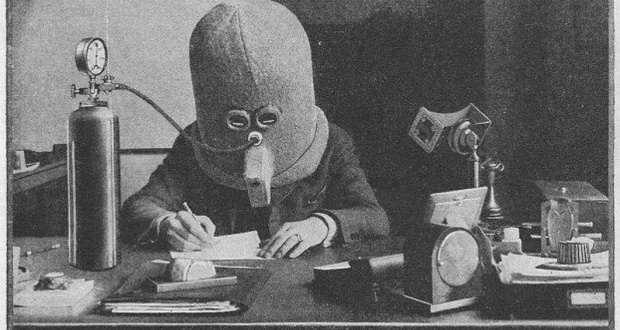 Invention de Hugo Gernsback (1925) « L'isolateur »