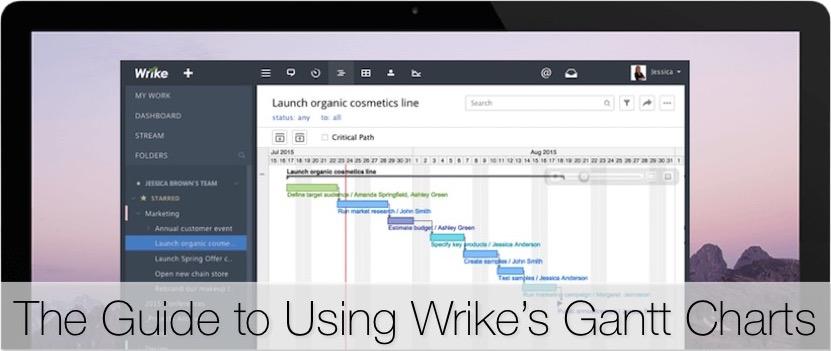 The Guide to Using Wrike's Online Gantt Chart Maker