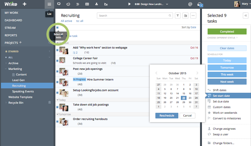 The In-Depth Guide to Using Wrike's Online Gantt Chart Maker