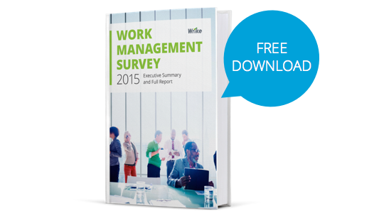 Released: 2015 Work Management Survey Report