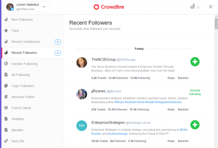 Crowdfire - 40 Top Tools for Maximizing Marketing Team Productivity