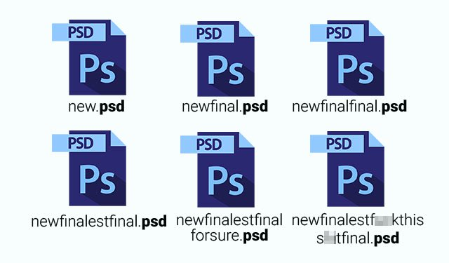 Multiple versions of that Final-Final-Version.psd?