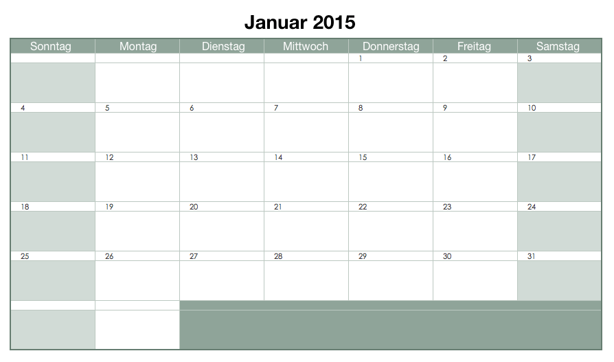 3 Möglichkeiten Ihren Projektmanager Kalender Zu Erstellen