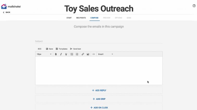 Mailshake - 40 лучших инструментов для повышения продуктивности команды маркетинга