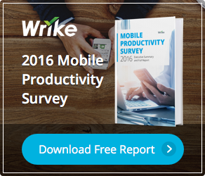 2016 Mobile Productivity Survey Report