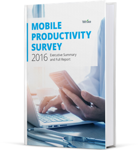 Released: 2016 Mobile Productivity Report