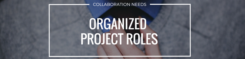 Organize Project Roles