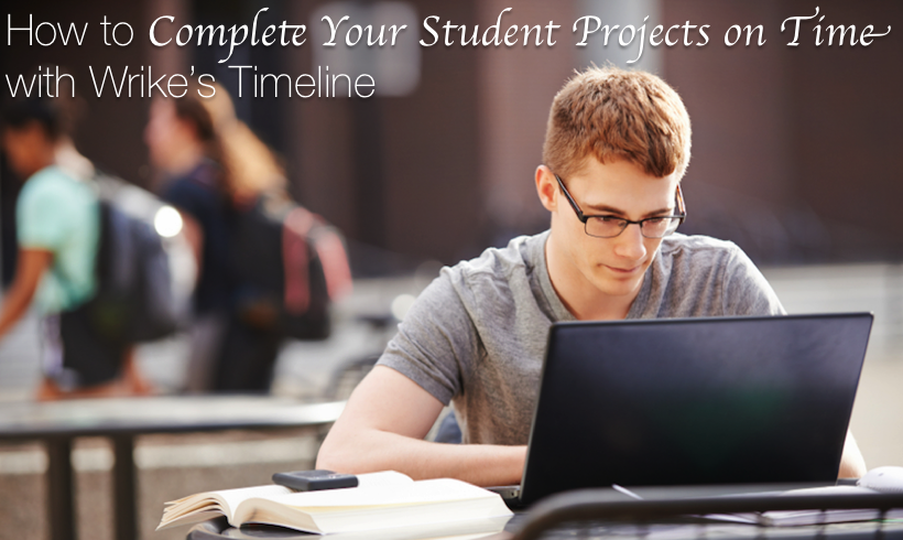 How to Complete Your Student Projects on Time with Wrike's Timeline