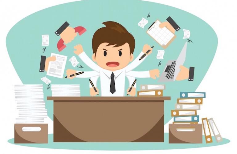 Многозадачность ухудшает производительность на 40%