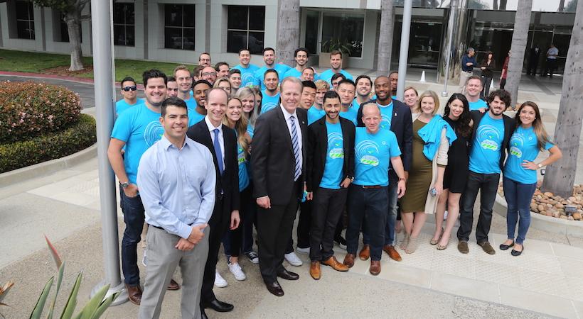 Новый офис Wrike в Ла-Холья: в Сан-Диего созданы 150 рабочих мест.