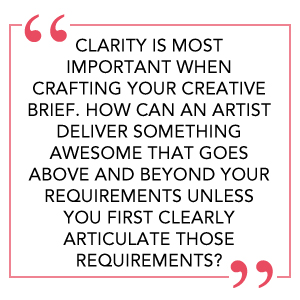 Quote on clarity in the creative brief