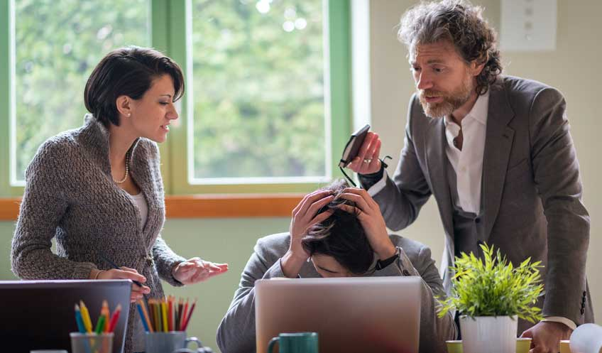 How to Stop Letting Your Coworkers Undermine You