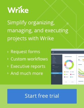 Simplify organizing, managing, & executing projects with Wrike