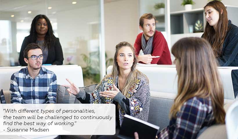 Teammanagement bei verschiedenen Persönlichkeiten: So geht's