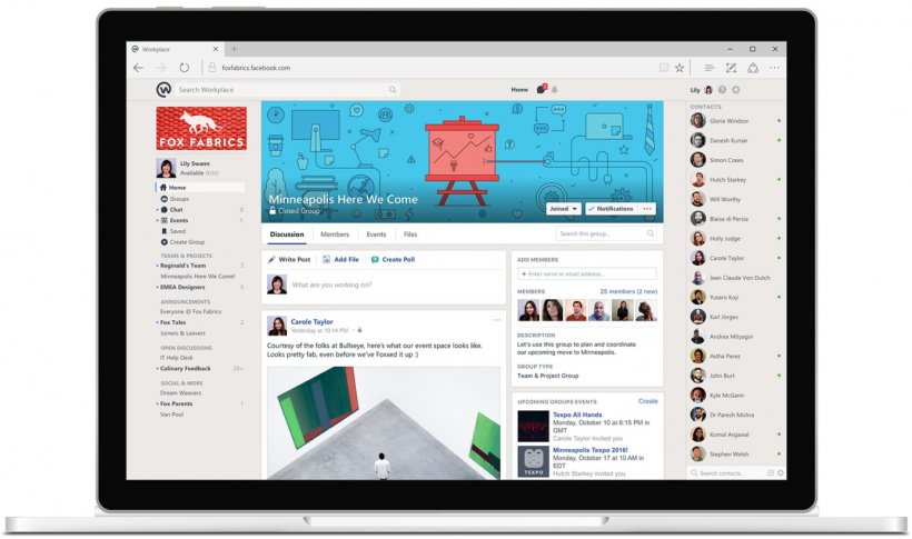 Workplace by Facebook - Best Team Collaboration Tools for 2017