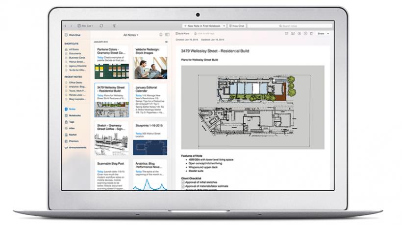 Evernote Business - лучшие инструменты для совместной работы