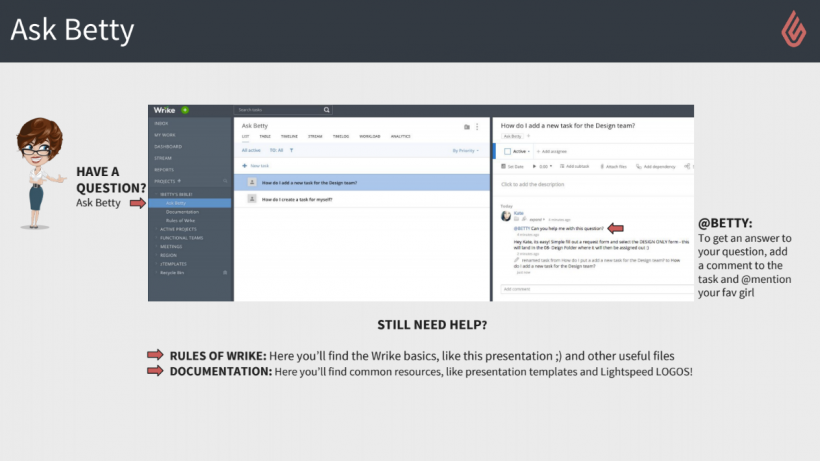 Wrike adoption tip: implement a help desk