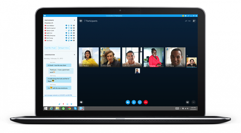 Skype - team collaboration tools