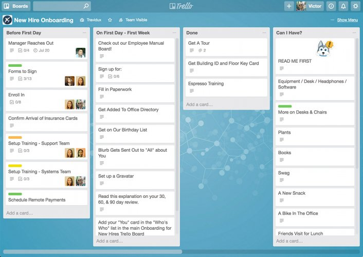 Trello - Best Team Collaboration Tools for 2017