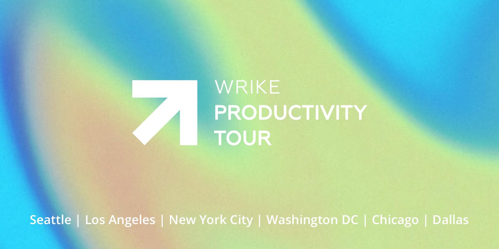 Productivity Tour Wrike