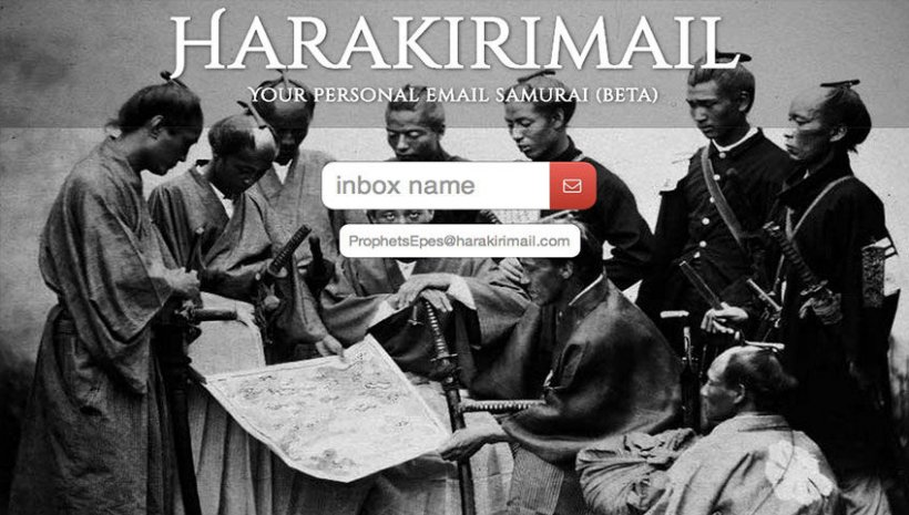 Harakiri Mail - 51 Chrome Browser Extensions to Amplify Your Productivity