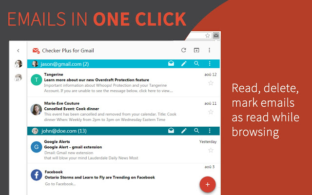 Checker Plus for Gmail - 51 Chrome Browser Extensions to Amplify Your Productivity