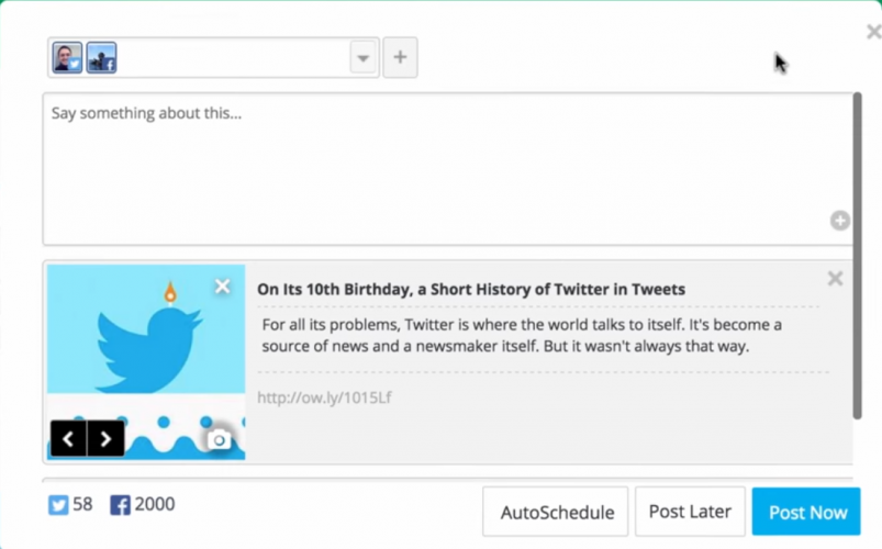 Hootsuite Hootlet- 51 Chrome Browser Extensions to Amplify Your Productivity
