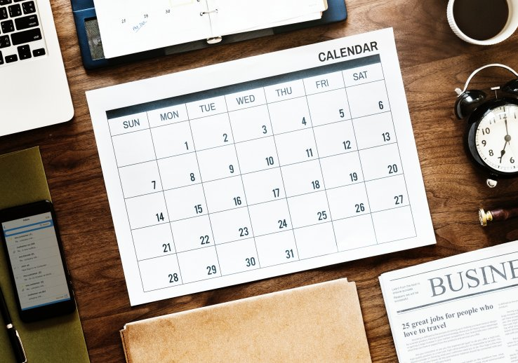 Super 3 Ways To Create Your Project Manager Calendar Beutiful Home Inspiration Truamahrainfo