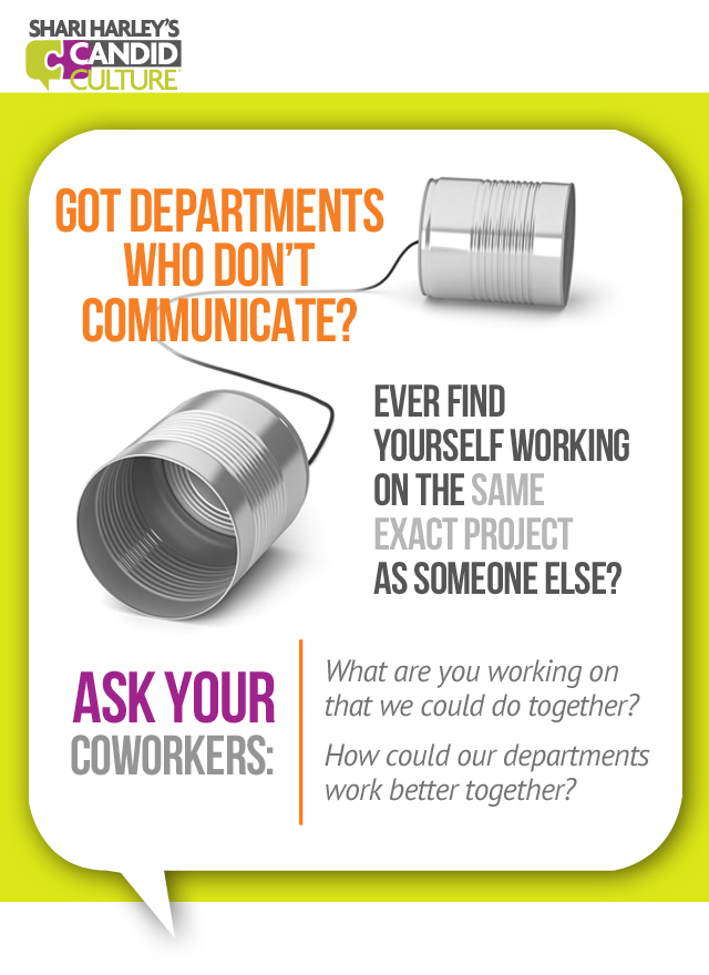 Silos - how to avoid redundant work