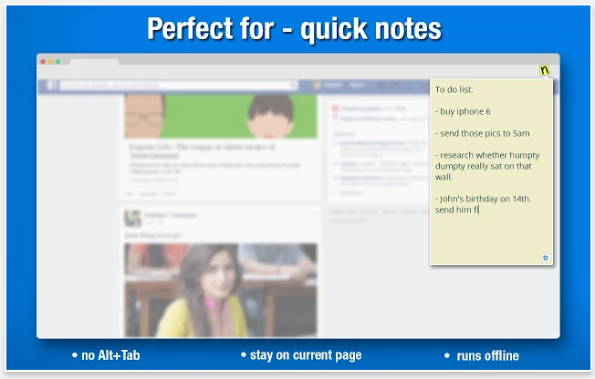 Sticky Notes - 51 Chrome Browser Extensions to Amplify Your Productivity