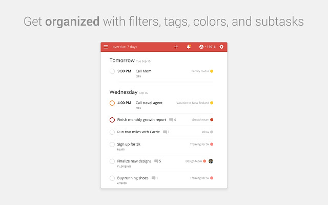 51 chrome browser extensions to amplify your productivity for Todoist project templates